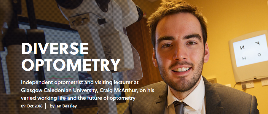 Optometry Today interviews Craig McArthur