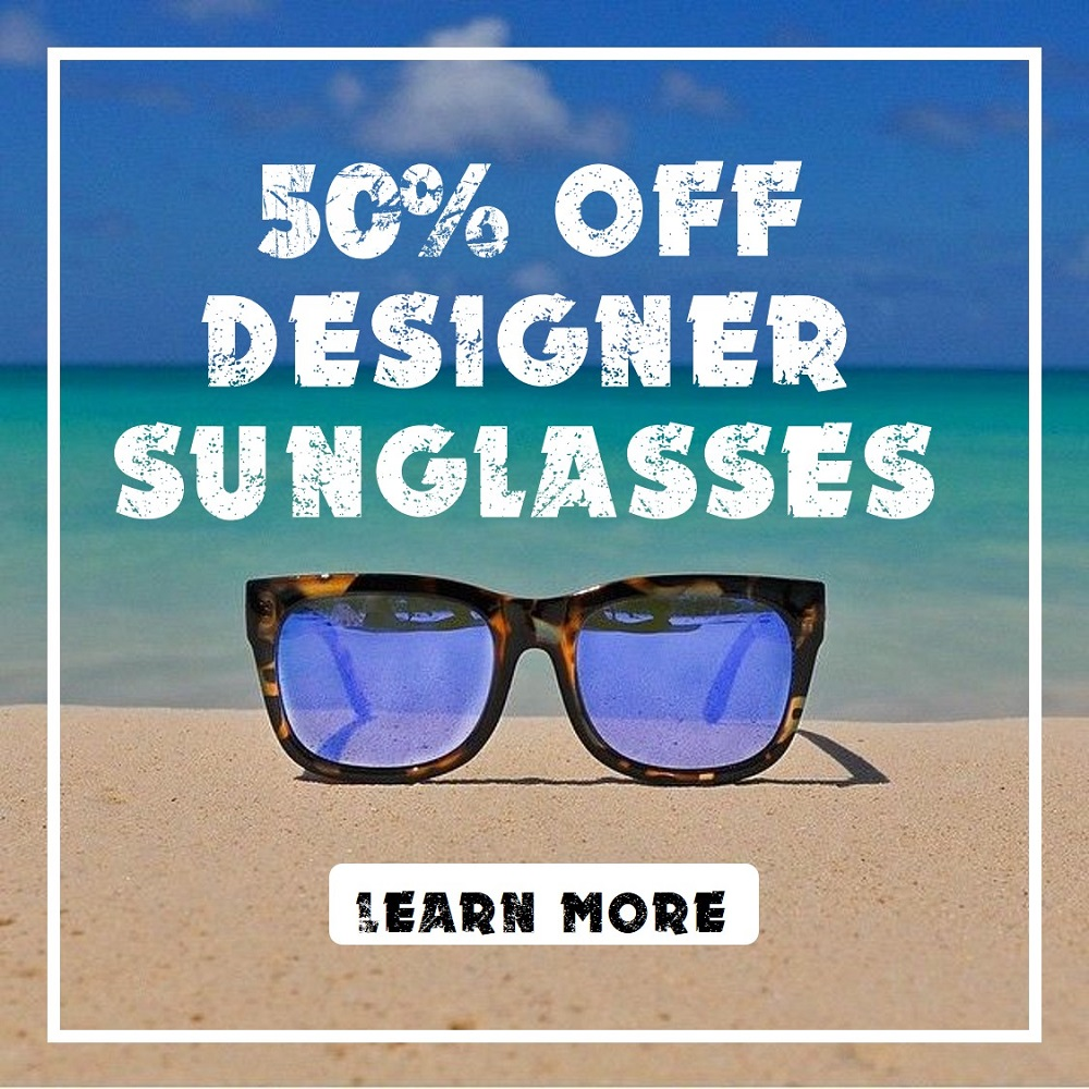 Sunglass Sale – 50% Designer Sunglasses
