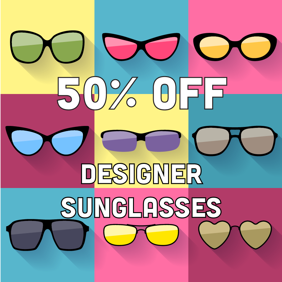 Designer sunglass sale | 50% off designer sunglasses