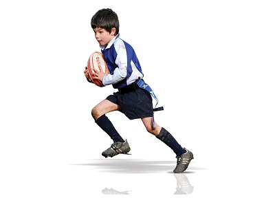 Contact lenses for children and sport Rugby - Peter Ivins Eye Care