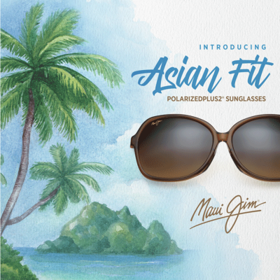 Maui Jim Asian fit polarised sunglasses
