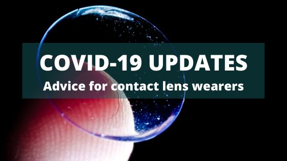 Advice for contact lens wearers during the COVID-19 crisis