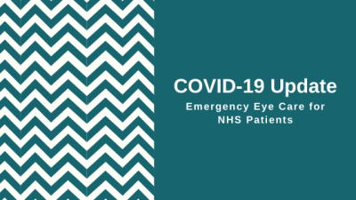 COVID-19 Updates emergency eye care for NHS patients in Bearsden