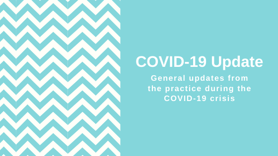 Practice update during the COVID-19 Crisis