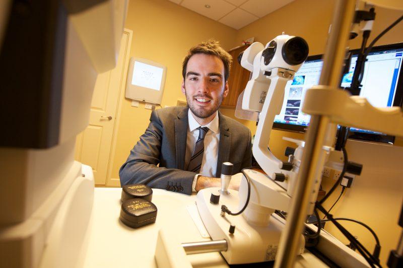 Craig McArthur myopia management optometrist