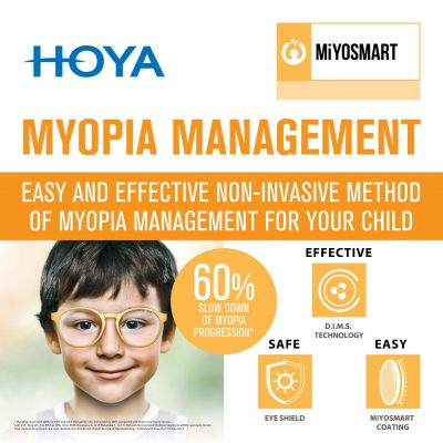 MiyoSmart Lenses for myopia management