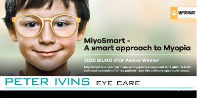 MiyoSmart - A smart approach to Myopia at Peter Ivins Eye Care
